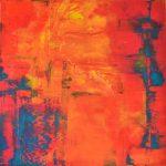Ohne Titel/Untitled 80 cm x 80 cm I Acryl auf Leinwand/Acrylic paint on canvas