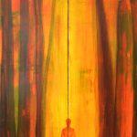 Verbunden/Connected I Format variable: minimum 120 cm x 80 cm I Acryl und Öl auf Leinwand/Acrylic paint and oil on canvas