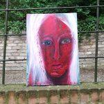 Svaha I 50 x 40 cm I Acryl auf Leinwand / acrylic paint on canvas