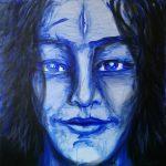 Without title I 80 x 80 cm I Acryl und Öl auf Leinwand / acrylic paint and oil on canvas